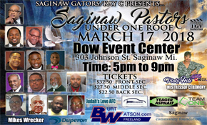 Saginaw Pastors 2018 Event Poster