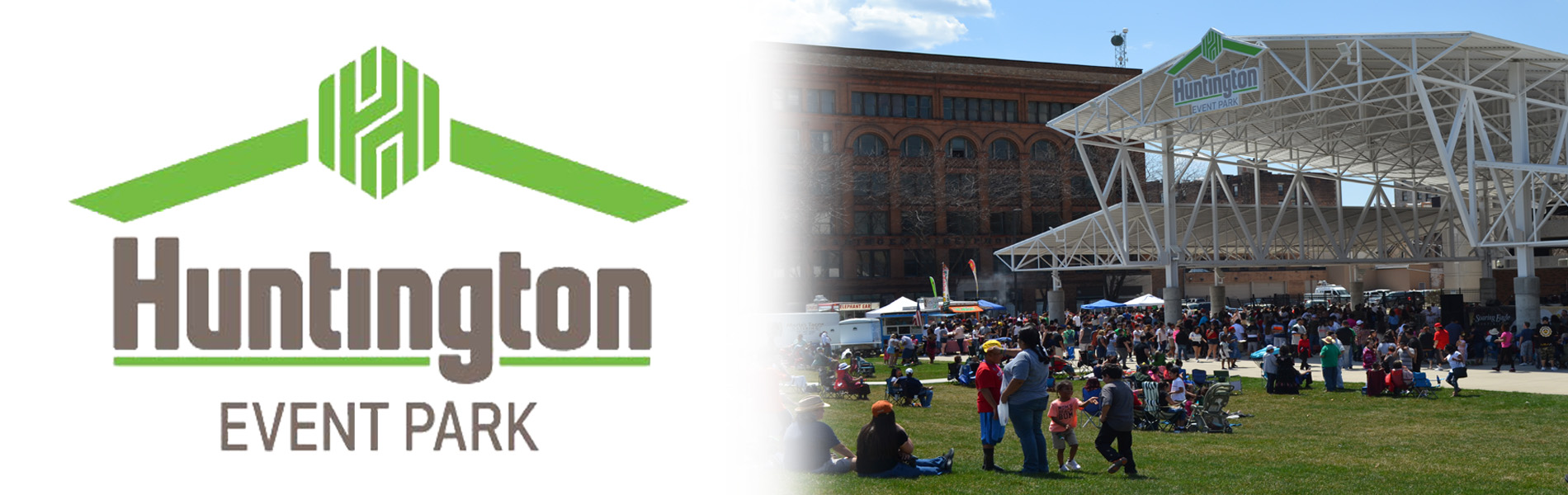 Huntington Event Park Banner